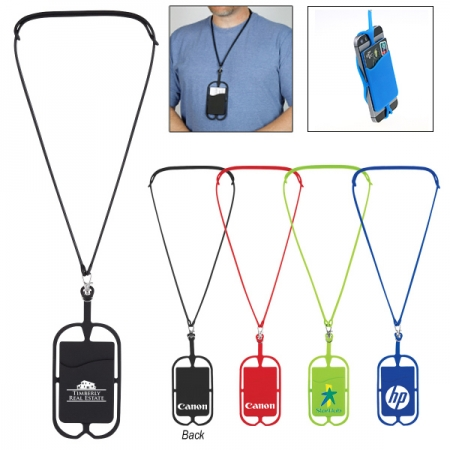 Universal Silicon Sling Lanyard Necklace